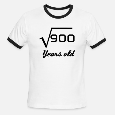 4fe0008fd Square Root Of 900 30 Years Old Men's Premium T-Shirt | Spreadshirt