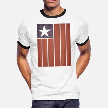 Stars And Stripes Stars And Stripes - Men's Ringer T-Shirt