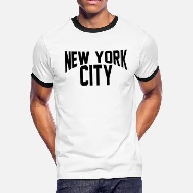 John NEW YORK CITY - Men's Ringer T-Shirt