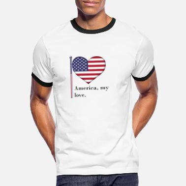 The British Empire Independence Day - Men's Ringer T-Shirt