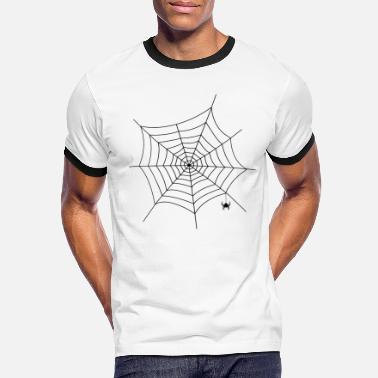 Spider Web Best spider web with spider - Men's Ringer T-Shirt