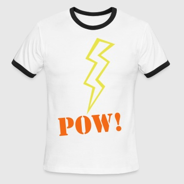 lightning (ZAP) - Men's Ringer T-Shirt