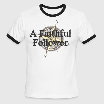 A Faithful Follower - Men's Ringer T-Shirt
