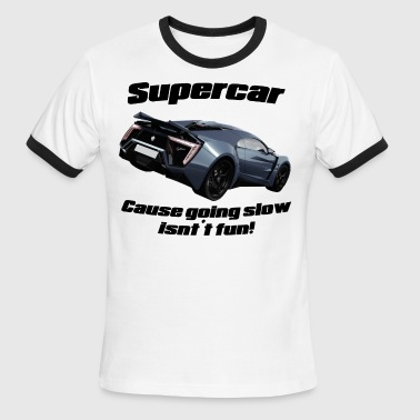 Supercar! - Men's Ringer T-Shirt