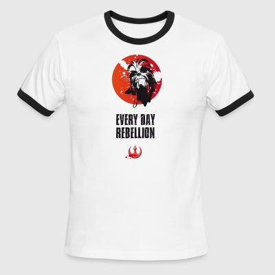 rebellion chewy every day Demo anti rebel monk lol - Men's Ringer T-Shirt