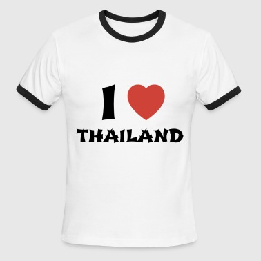 I Love Thailand - Men's Ringer T-Shirt