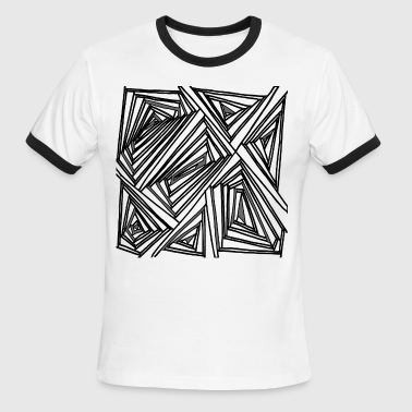 lines - Men's Ringer T-Shirt