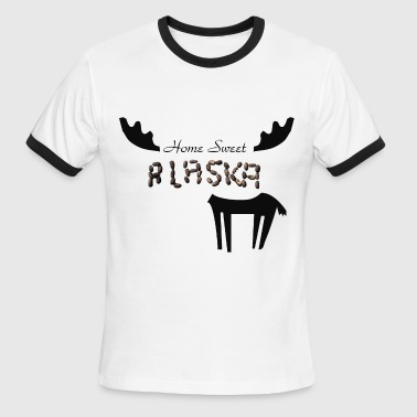 Home Sweet Alaska - Men's Ringer T-Shirt