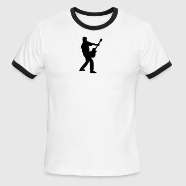 rocker_guitarist - Men's Ringer T-Shirt