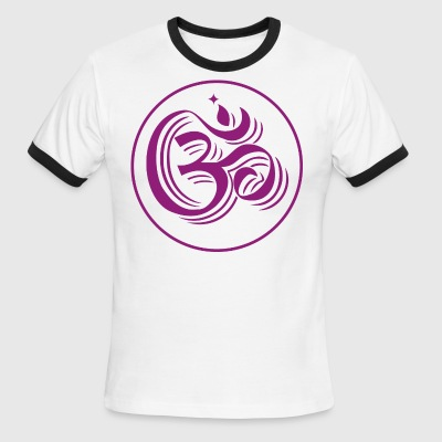 mantra om - Men's Ringer T-Shirt
