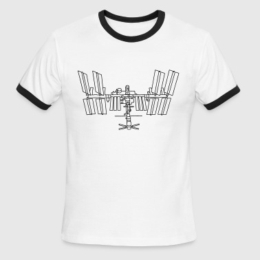 Space station ISS - Men's Ringer T-Shirt