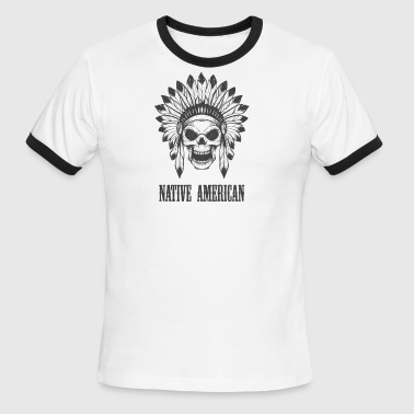 native american - Men's Ringer T-Shirt