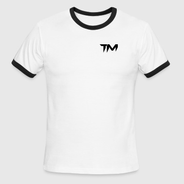 TM LOGO - Men's Ringer T-Shirt