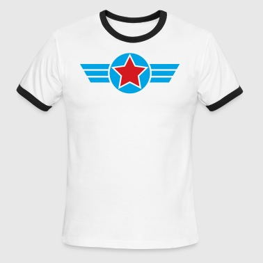 Winged Star - Men's Ringer T-Shirt