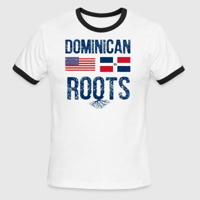 Dominican American designs - Men's Ringer T-Shirt