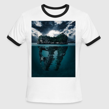 Lost Sea - Men's Ringer T-Shirt