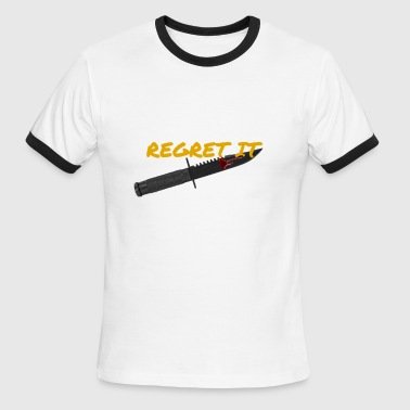 Regret It merch - Men's Ringer T-Shirt
