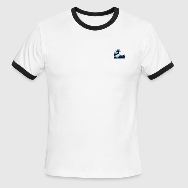 Wave - Men's Ringer T-Shirt