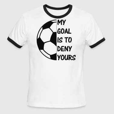 soc is my goal - Men's Ringer T-Shirt