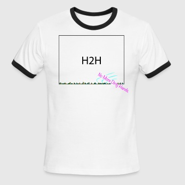 H2H No More Dirty Hands - Men's Ringer T-Shirt