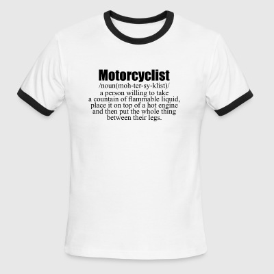 Motorcyclist - Men's Ringer T-Shirt