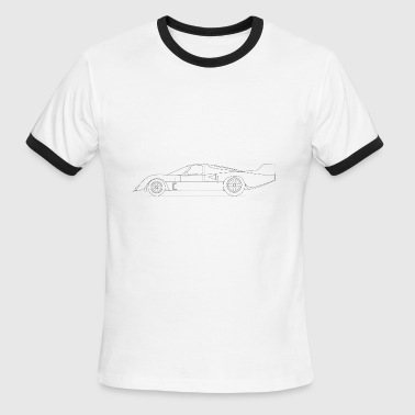 Racing car V12 - Men's Ringer T-Shirt
