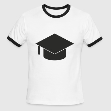 University Applied Sciences Hat Bachelor Master - Men's Ringer T-Shirt