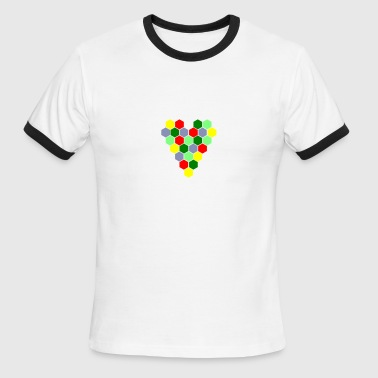 I Heart Catan - Men's Ringer T-Shirt