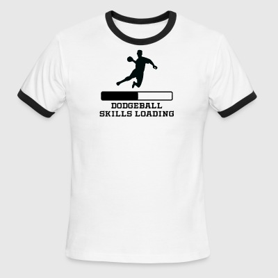 Dodgeball Skills Loading - Men's Ringer T-Shirt