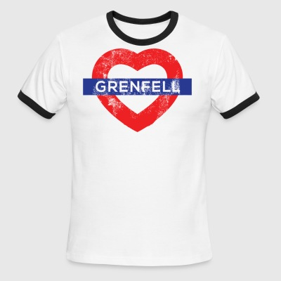 Grenfell tower - Men's Ringer T-Shirt