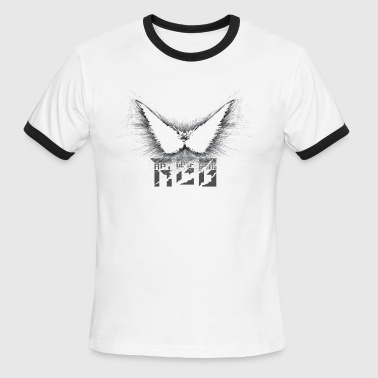 AJfalcons Wings RGG - Men's Ringer T-Shirt