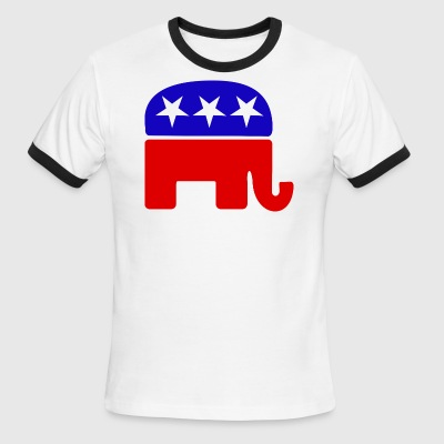 Republican NATIONAL CONVENTION LOGO - Men's Ringer T-Shirt