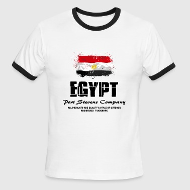 Egypt Flag Logo - Men's Ringer T-Shirt