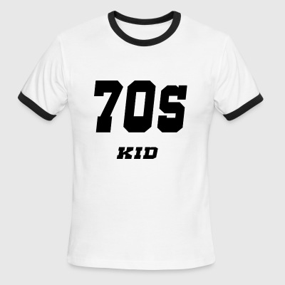 70s kid - Men's Ringer T-Shirt