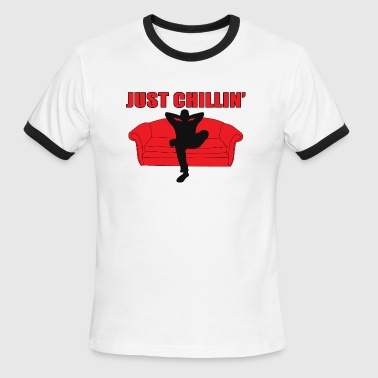 Chillin - Men's Ringer T-Shirt