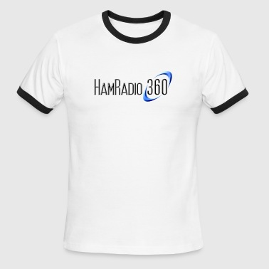 Ham Radio 360 Official Logo Gear - Men's Ringer T-Shirt