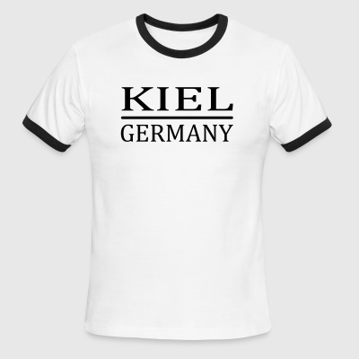 Kiel - Germany - Men's Ringer T-Shirt