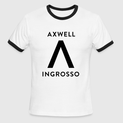 Axwell Ingrosso (Black Text) - Men's Ringer T-Shirt