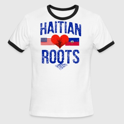 Haitian flag designs - Men's Ringer T-Shirt