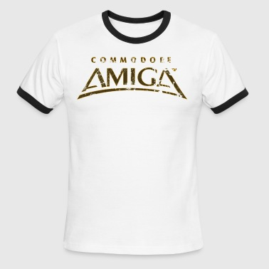 Commodore Amiga Vintage T Shirt - Men's Ringer T-Shirt