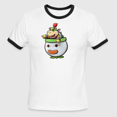 Bowser Junior - Men's Ringer T-Shirt