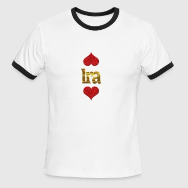 Ira - Men's Ringer T-Shirt
