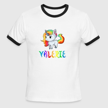 Valerie Unicorn - Men's Ringer T-Shirt