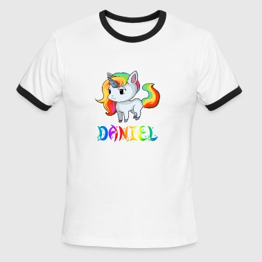 Daniel Unicorn - Men's Ringer T-Shirt