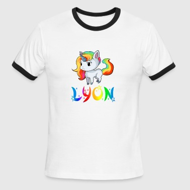 Lyon Unicorn - Men's Ringer T-Shirt