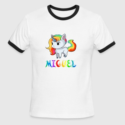 Miguel Unicorn - Men's Ringer T-Shirt