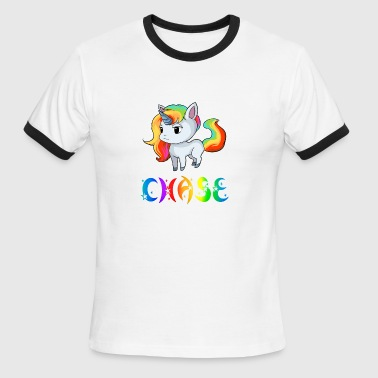 Shop chased t shirts online spreadshirt chase unicorn mens ringer t shirt sciox Gallery