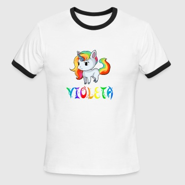 Violeta Unicorn - Men's Ringer T-Shirt