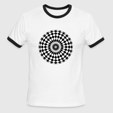 Checkerboard - Men's Ringer T-Shirt