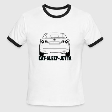 Eat Sleep Jetta - Men's Ringer T-Shirt